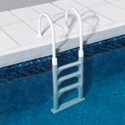 Blue Wave Aluminum/Resin In-Pool Ladder for Above Ground Pools
