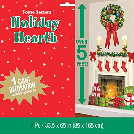 1 X scene setter add-ons holidy hearth(1sht) (Jungle Scene Setter)