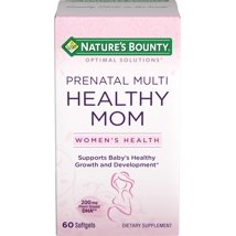 Multivitamins: Nature's Bounty Healthy Mom