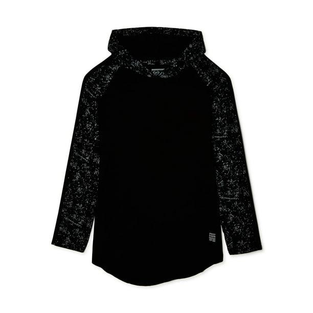Phat Farm Boys Splatter Print Long Sleeve Hoodie, Sizes 8-18