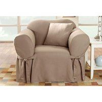 Sure Fit Cotton Duck Chair Slipcover
