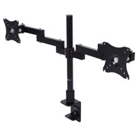 Yosoo Dual Arm Adjustable Computer Monitor Desk Mount Stand