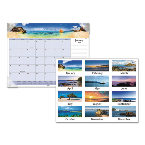 At-A-Glance Images of the Sea Desk Pad - Desk Pads