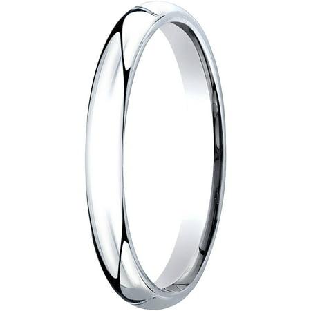 Womens Platinum, 3mm Slim Profile Comfort-Fit Wedding (Tiffany Platinum Band)