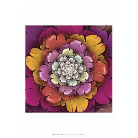 Fractal Blooms II Poster Print by James Burghardt (13 x 19)