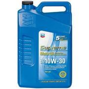 (3 Pack) Chevron Supreme Motor Oil, 10W30