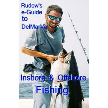 Mexico Offshore Fishing Map (Rudow's e-Guide to DelMarVa Inshore & Offshore Fishing - eBook)