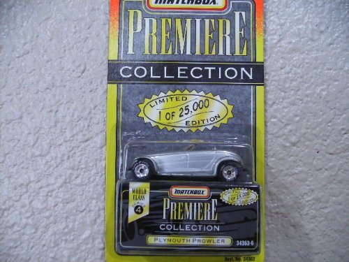 Premiere plymouth prowler (silver) series 4 # 334363-6, By Matchbox Ship from US by