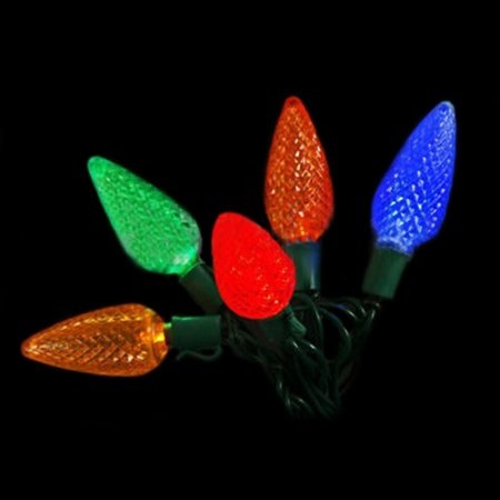 outdoor string lights string lights 25 c9 bulbs commercial. Black Bedroom Furniture Sets. Home Design Ideas