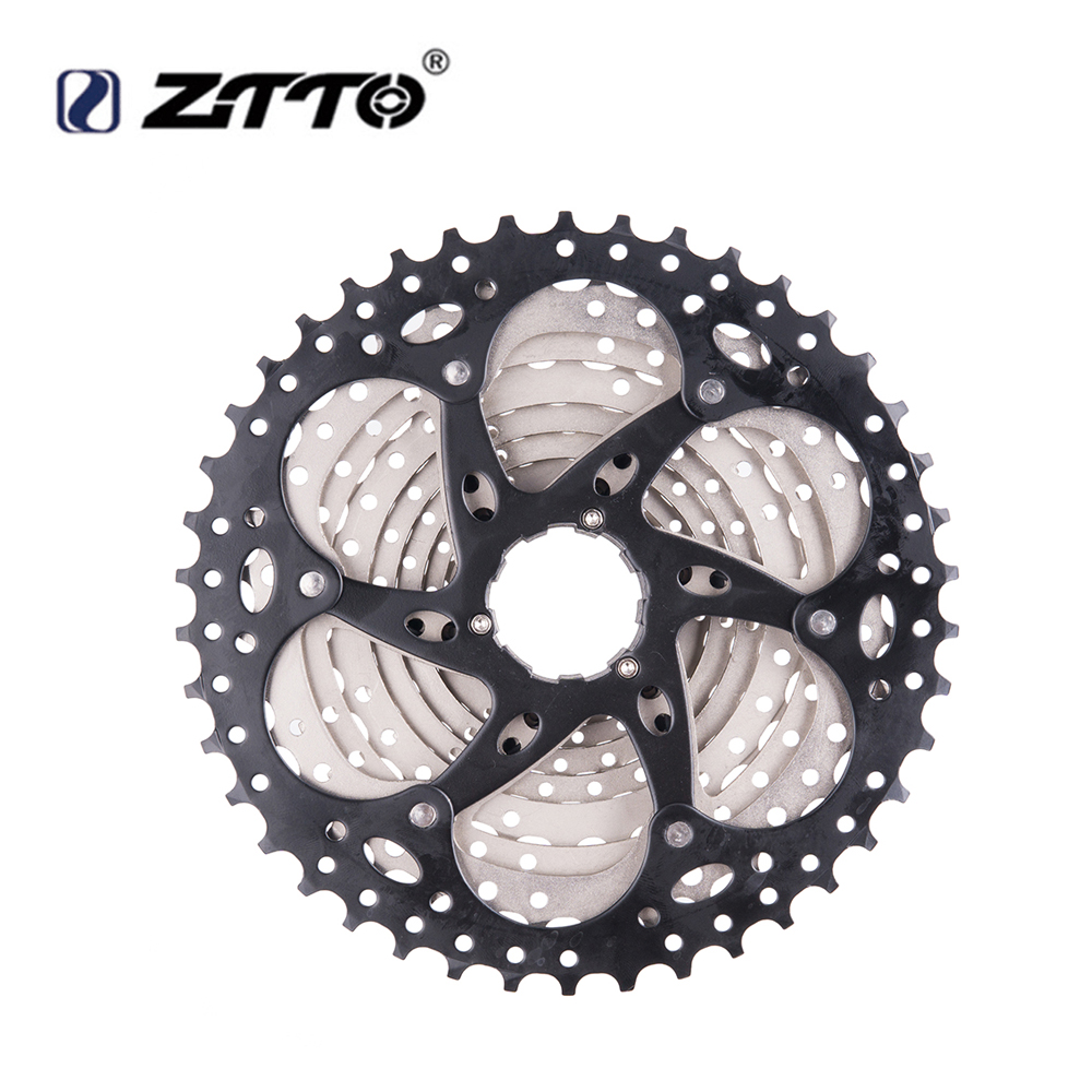 ZTTO 11-42T 10 Speed 10s Wide Ratio Sunrace for Bicycle Bike MTB Gears Cassette Sprockets in Mountainous Region and Highway