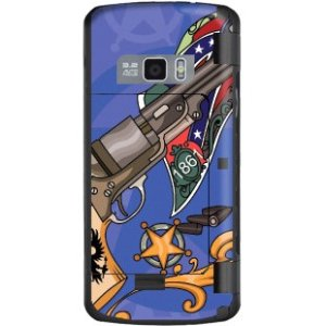 Mightyskins Protective Vinyl Skin Decal Cover For Lg Env Touch Vx11000 Cell Phone Wrap Sticker Skins   Pistol Whip