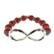 Infinity Bead Bracelet Hand