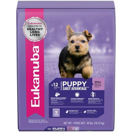 Eukanuba Small Breed Puppy Dry Dog Food 40 Lb Walmart Com