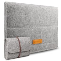 Inateck 13 Inch Felt Laptop Sleeve with Stand Function for MacBook Pro