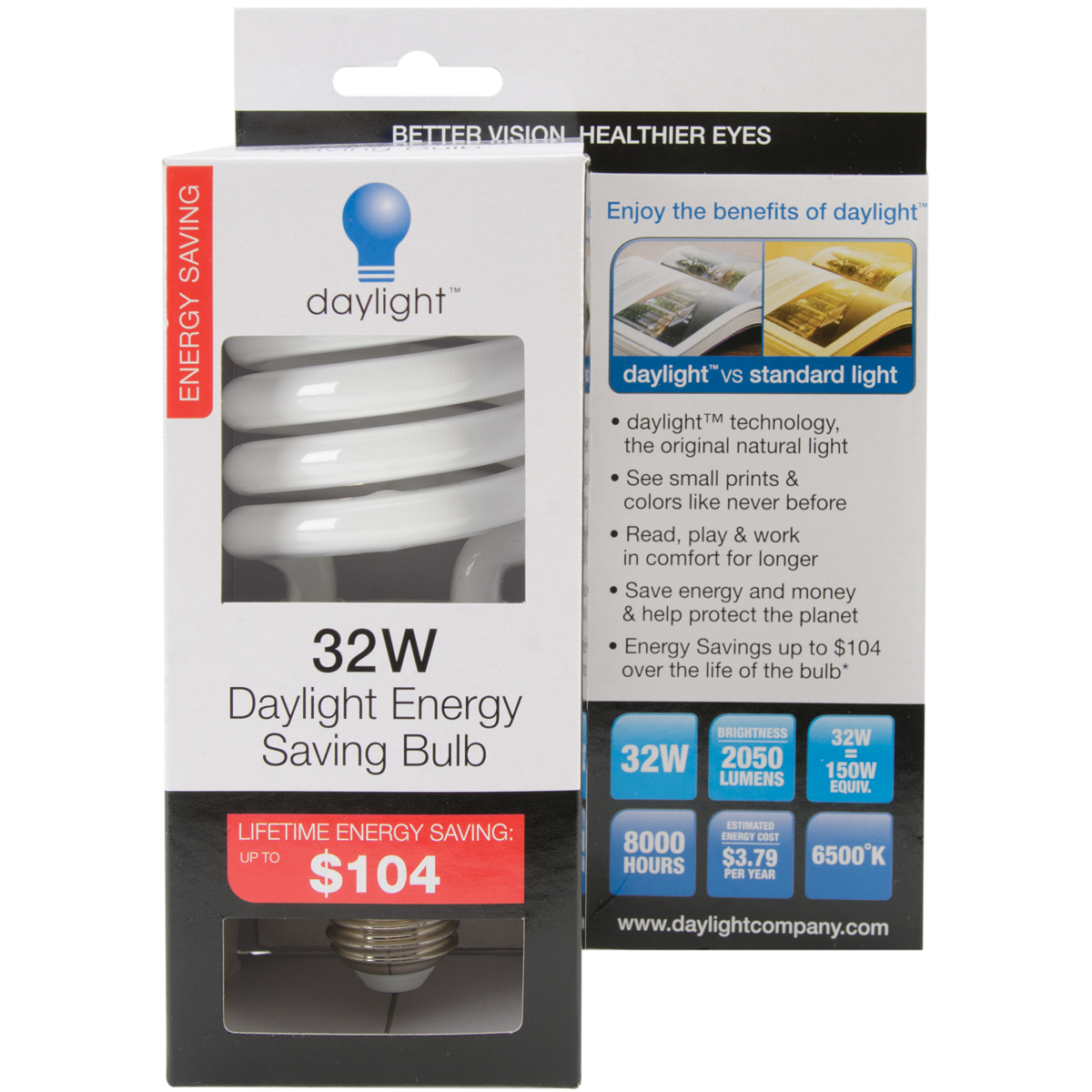 Daylight Replacement Bulb-32w