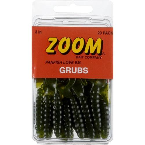 "UNRIGGED GRUBS 3"" WATERMELON Multi-Colored"