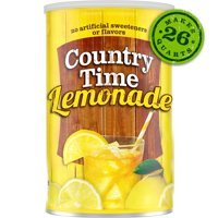 Country Time Lemonade naturally flavored with other natural flavors Drink Mix, 63 oz. Canister