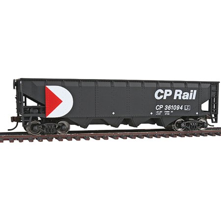 Walthers Trainline HO Scale Offset Hopper Car Canadian Pacific/CP Rail (Canadian Pacific Hopper)