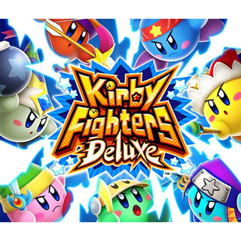 Kirby Fighters Deluxe, Nintendo, Nintendo 3DS, [Digital Download], 0004549668075