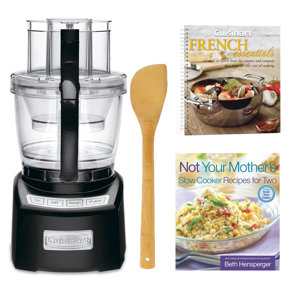 Cuisinart Elite 14-Cup Food Processor + 2 Cookbooks and Stir Fry Spatula