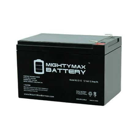 12V 12Ah F2 Zida 350WF24V, 350 WF 24V Electric Scooter Battery (Firestorm 24v Battery)