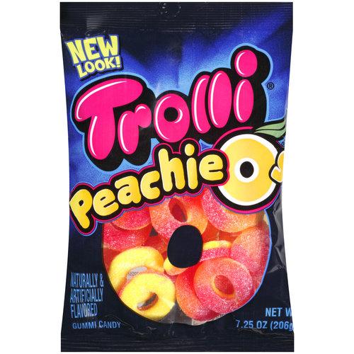 Trolli Peachie-Os Gummi Candy, 7.25 oz