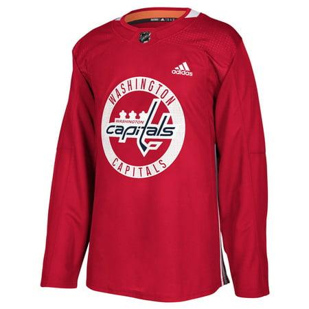 36b84f657 Washington Capitals Adidas NHL Men's Climalite Authentic Practice Jersey -  Walmart.com