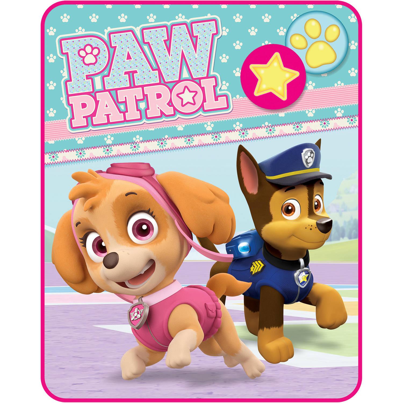 Paw Patrol u0022Pawsome Palsu0022 40u0022 x 50u0022 Kids Silky Soft Throw, 1 Each