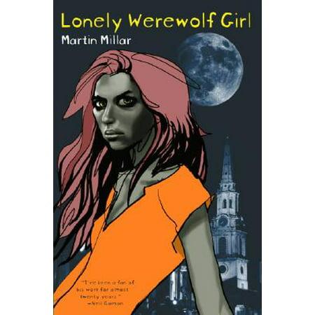Lonely Werewolf Girl - Female Werewolves