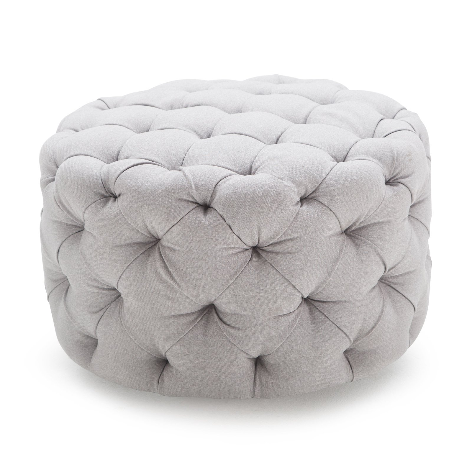 tufted isabelle kitchen dining com round linon ottoman amazon dp