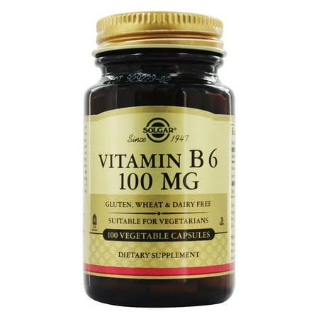 Solgar - Vitamine B6 100 mg. - 100