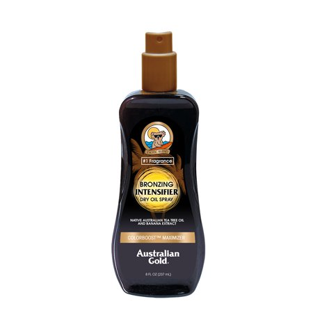 Australian Motorcycle (Australian Gold Bronzing Intensifier Dry Oil Spray, 8 FL OZ )