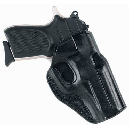 Galco Stinger Belt Holster, Fits Taurus 709, Black Leather