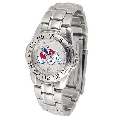 - Fresno State Sport Women's Steel Band Watch