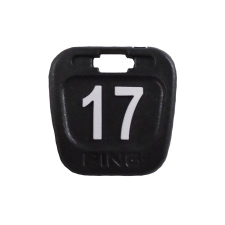 NEW Ping Hybrid Headcover #17 Replacement Tag