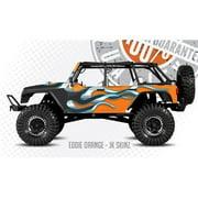 FreqEsKinz Eddie Orange Wrap Axial Jeep Rubicon FRQ18005