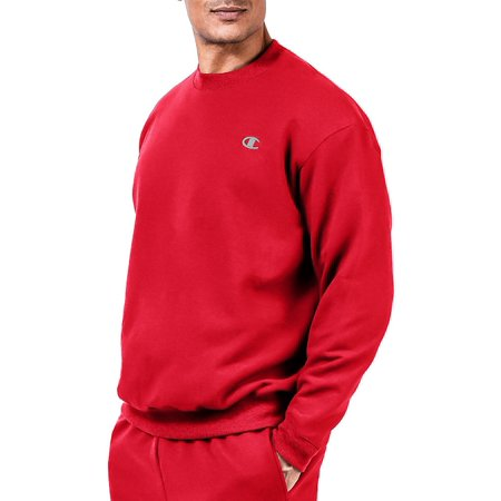 Big Swea Men's Fleece Crew Champion tall pSqzMVU