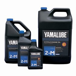 Yamaha Yamalube Outboard Marine 2-Stroke TCW-3 Oil Case of Two 2 5 Gallons