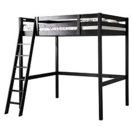 Ikea Loft bed frame, black 1824.20226.2630 (Twin Ideas)