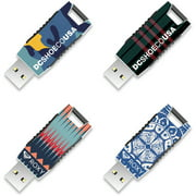 64GB EP Capless USB, DC Shoes and Roxy, 4-Pack