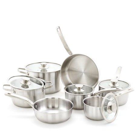 Old Dutch International 12 Piece Stainless Steel Cookware Set