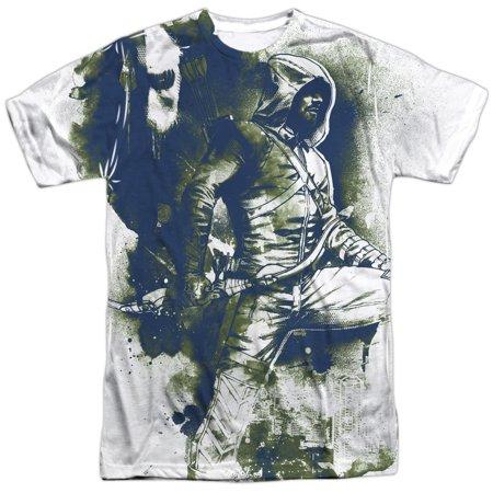 Arrow Spray Paint Mens Sublimation Shirt