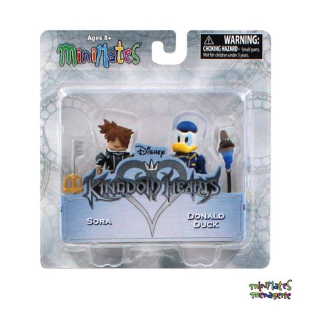 Minimates Kingdom Hearts Series 1 Sora & Donald Duck 2-Pack
