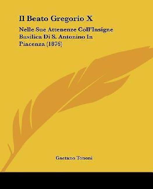 Il Beato Gregorio X by
