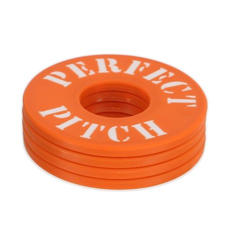 Perfect Pitch Washers, 4 pack, Orange