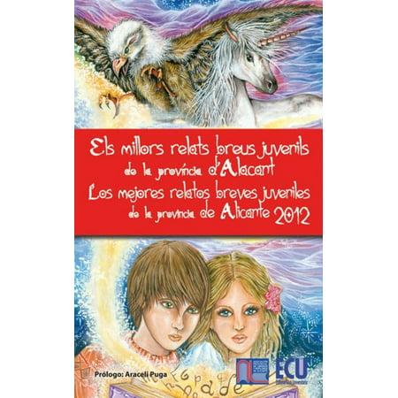 Los mejores relatos breves juveniles de la provincia de Alicante. 2012 - eBook - Los Mejores Sustos De Halloween