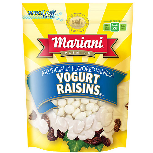 Mariani Vanilla Flavored Yogurt Raisins, 8 oz