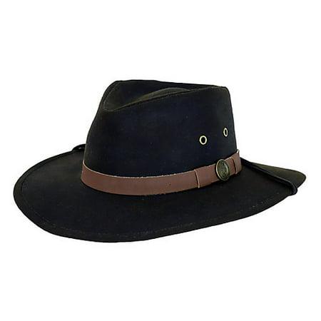 Outback Trading Australian Oilskin Hat Large -