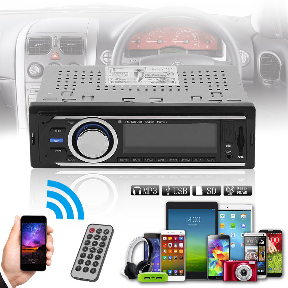 Universal 6206 Auto Car Audio Stereo MP3 Player For Supporting FM/AUX/USB