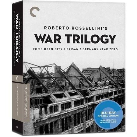 Roberto Rossellini's War Trilogy (Criterion Collection) (Blu-ray)